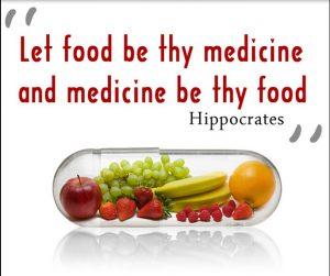 let thy food by thy medicine
