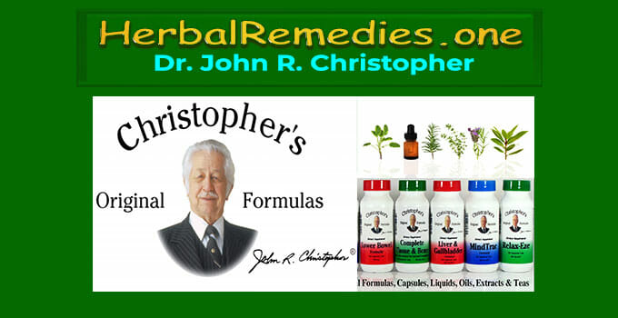 dr. christopher herbs