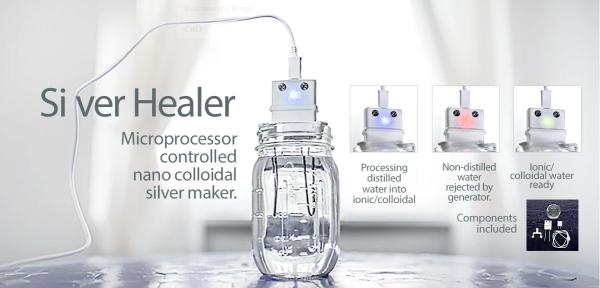 Nano Colloidal Silver Maker