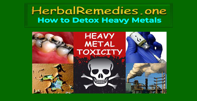 heavy metals cleanse