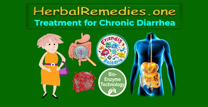natural treatment for chronic diarrhea
